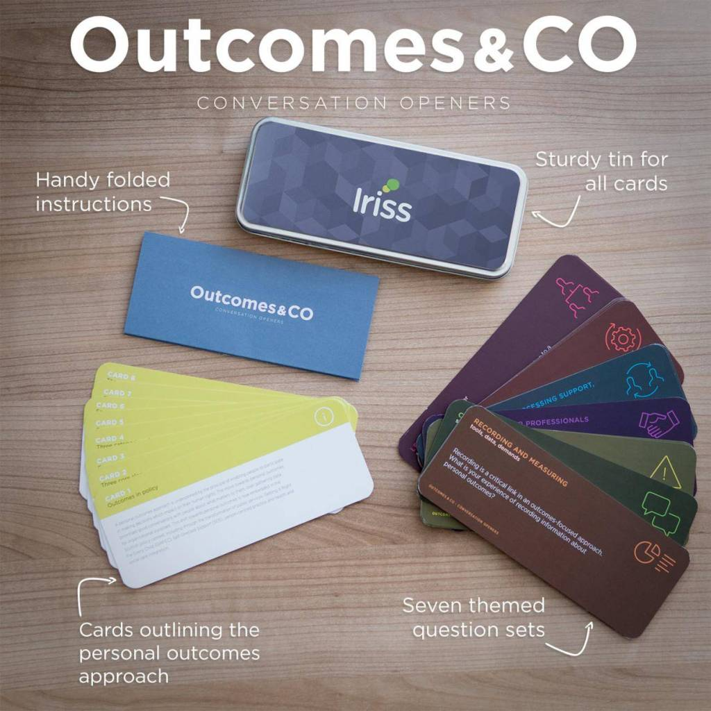 Outcomes and Co photo of toolkit