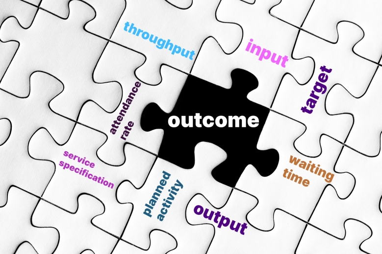 outcome and the many parts that combine to make it